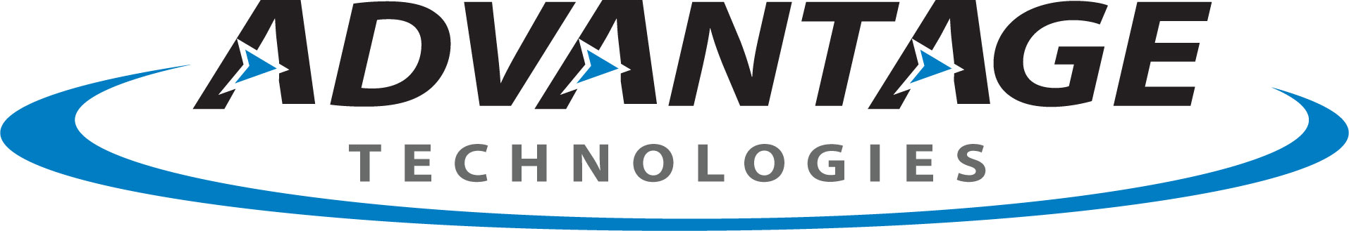 Image of Blue and Black Advantage Technologies Logo