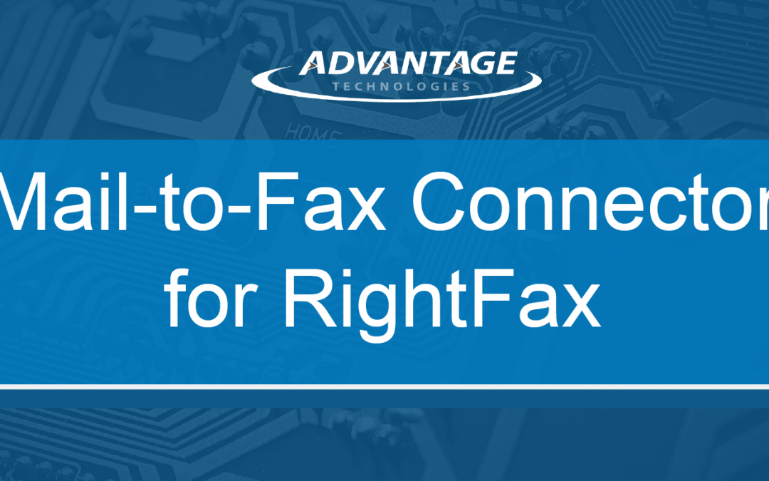 Mail-to-Fax Connector for RightFax