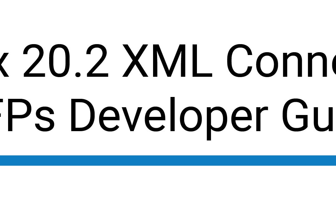 RightFax 20.2 XML Connector for MFPs Developer Guide