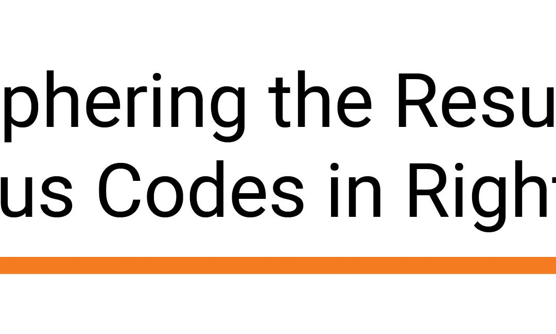 Deciphering the Resulting Status Codes in RightFax
