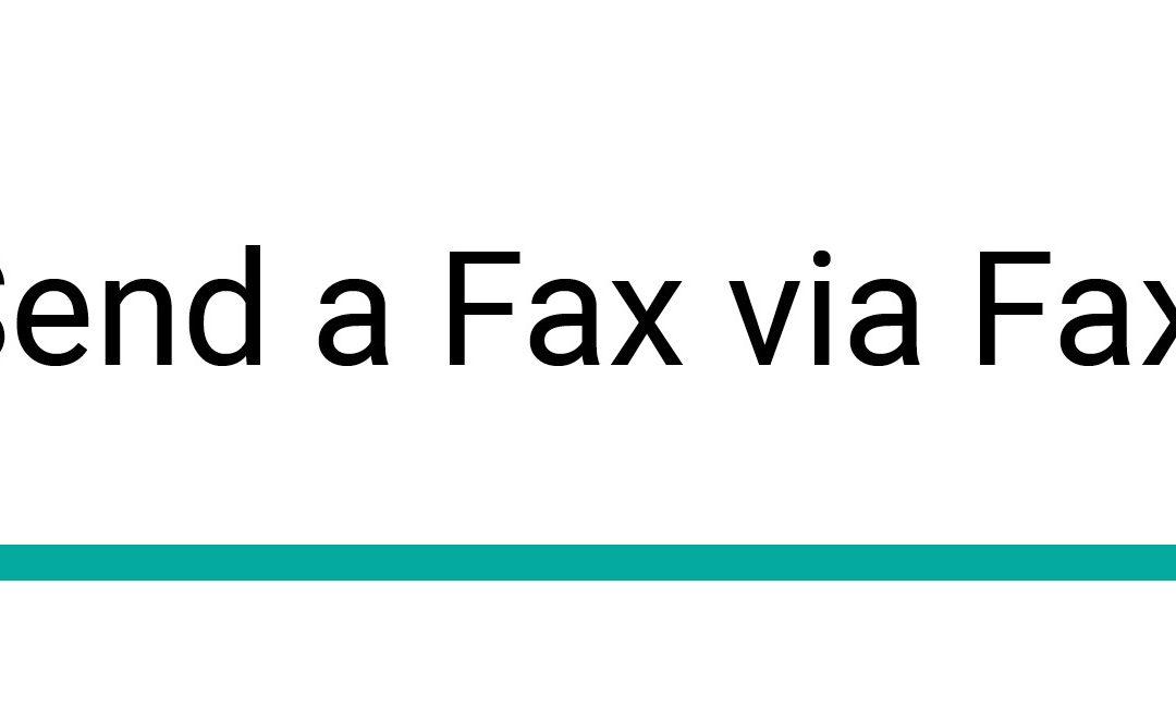 How to Send a Fax via Faxutil Web